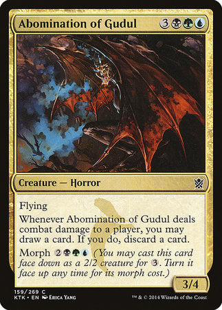Abomination of Gudul [Khans of Tarkir] | Rook's Games and More