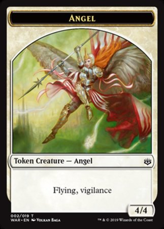Angel Token [War of the Spark Tokens] | Rook's Games and More