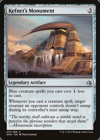 Kefnet's Monument [Amonkhet] | Rook's Games and More