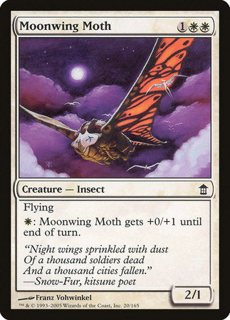 Moonwing Moth [Saviors of Kamigawa] | Rook's Games and More
