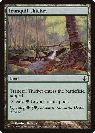 Tranquil Thicket [Archenemy] | Rook's Games and More