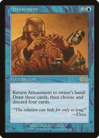 Attunement [Urza's Saga] | Rook's Games and More