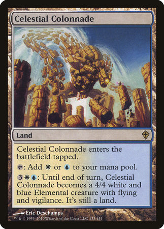 Celestial Colonnade [Worldwake] | Rook's Games and More