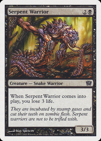 Serpent Warrior [Ninth Edition] | Rook's Games and More