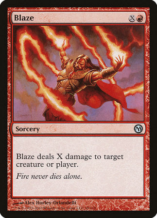 Blaze [Duels of the Planeswalkers] | Rook's Games and More