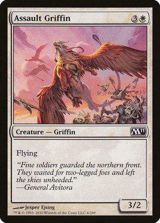 Assault Griffin [Magic 2011] | Rook's Games and More