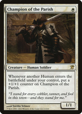 Champion of the Parish [Innistrad] | Rook's Games and More