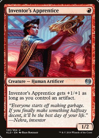 Inventor's Apprentice [Kaladesh] | Rook's Games and More