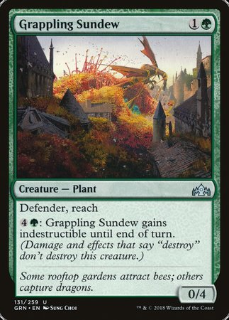 Grappling Sundew [Guilds of Ravnica] | Rook's Games and More