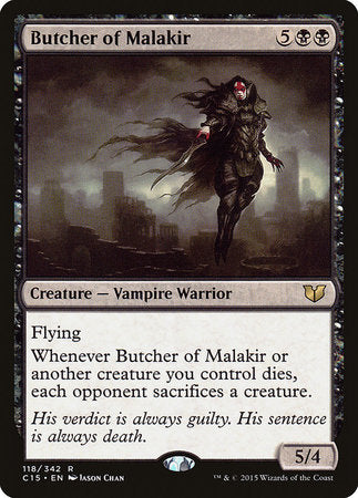 Butcher of Malakir [Commander 2015] | Rook's Games and More