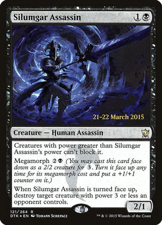 Silumgar Assassin [Dragons of Tarkir Promos] | Rook's Games and More