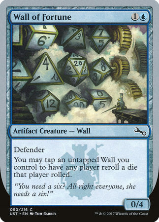 Wall of Fortune [Unstable] | Rook's Games and More