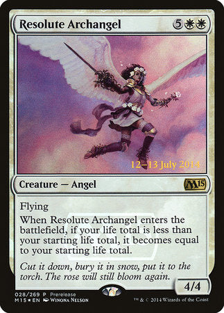Resolute Archangel [Magic 2015 Promos] | Rook's Games and More