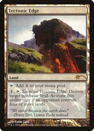 Tectonic Edge [Friday Night Magic 2012] | Rook's Games and More
