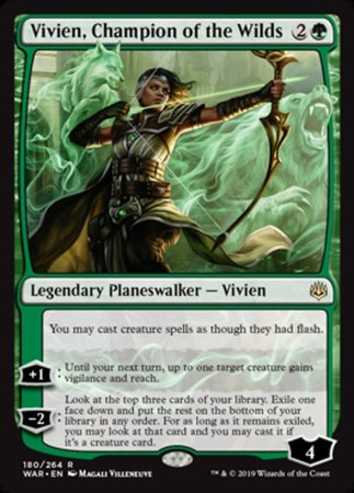 Vivien, Champion of the Wilds [War of the Spark] | Rook's Games and More