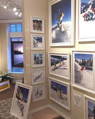 Gallery wall in Stowe on Hooey Mountain photos