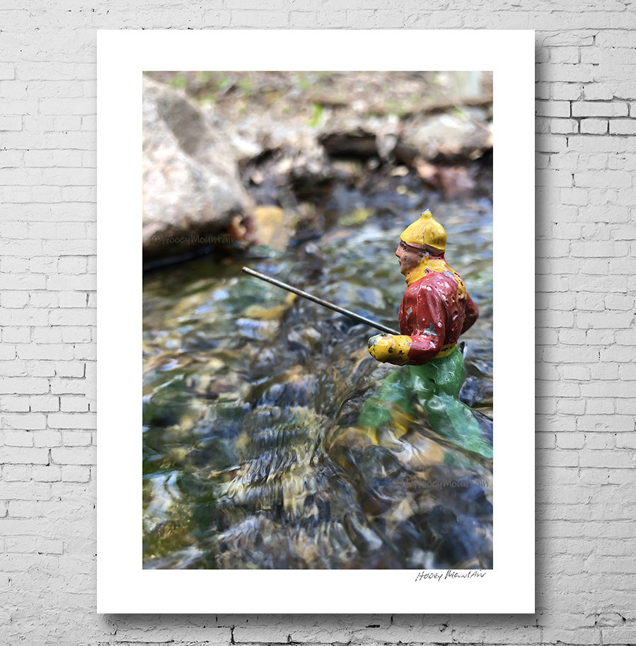 Vintage Toy Fisherman photo by Hooey Mountain