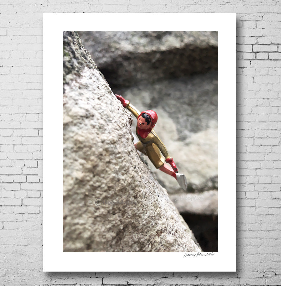 vinatge toy rock climber photo by Hooey Mountain