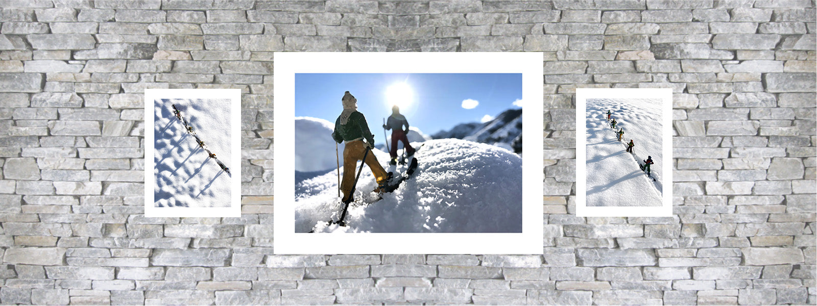 Vintage toy skier photo by Hooey Mountain