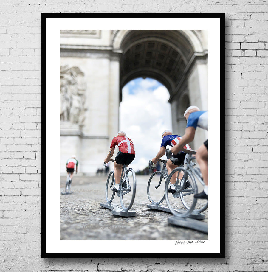 Photo of Toy Bikers on Tour de France last stage