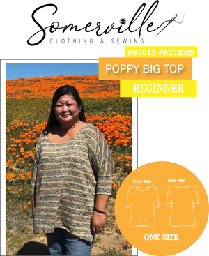 Poppy Big Top ~ PDF Digital Download