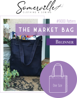 Market Bag Pattern ~ PDF Digital Download
