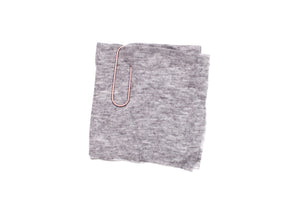 Tissue Jersey - Heather Grey