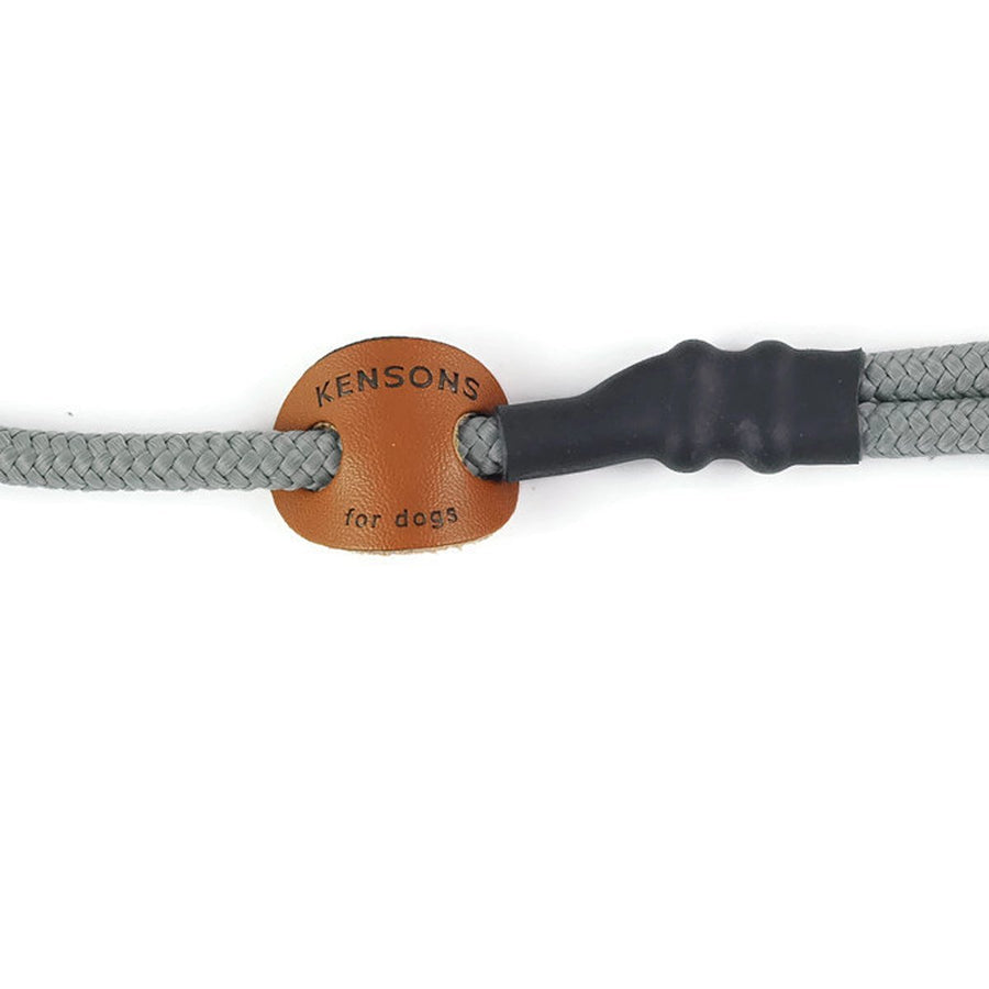 Retrieverleine 6mm Sporty | Betonbau-Grau - KENSONS for dogs