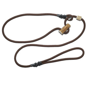 Retrieverleine 6mm Sporty | Dunkles Erd-Braun - KENSONS for dogs