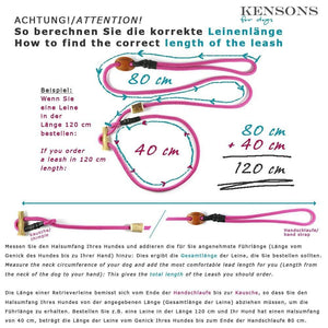 Retrieverleine 8mm Elegant | Customer - KENSONS for dogs