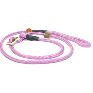 Retrieverleine 8mm Sporty | Alt-Pink-Rosa gegen Oh Shit! - KENSONS for dogs