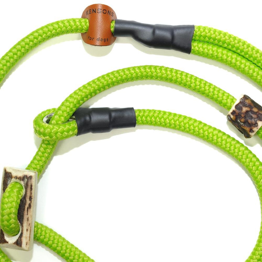 Retrieverleine 8mm Sporty | An-Apple-A-Day - Grün - KENSONS for dogs