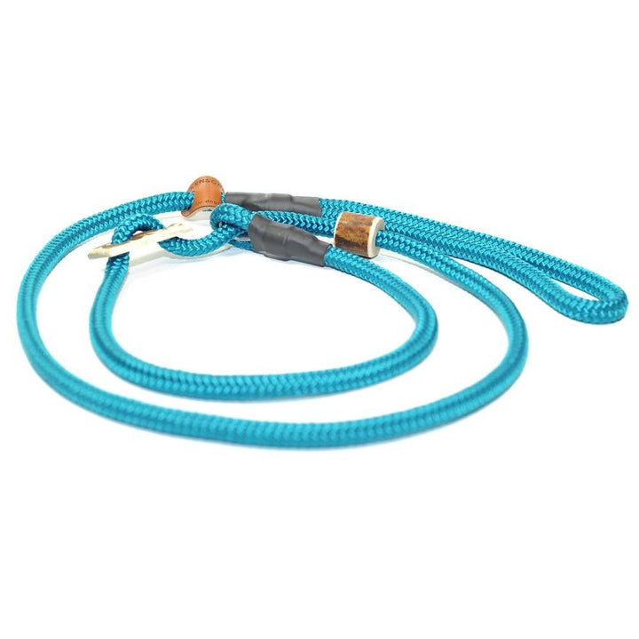 Retrieverleine 8mm Sporty | Attraktives Türkis - KENSONS for dogs