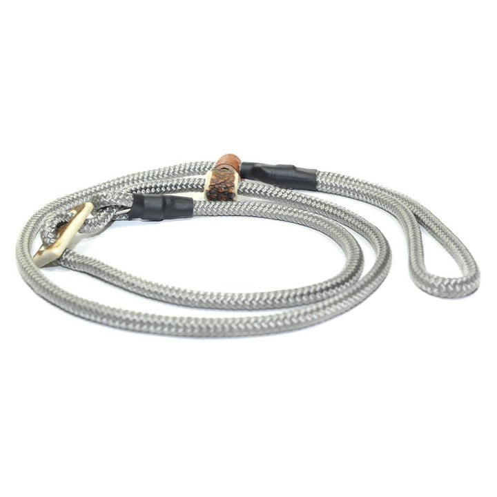 Retrieverleine 8mm Sporty | Beton-Grau-Glänzend - KENSONS for dogs