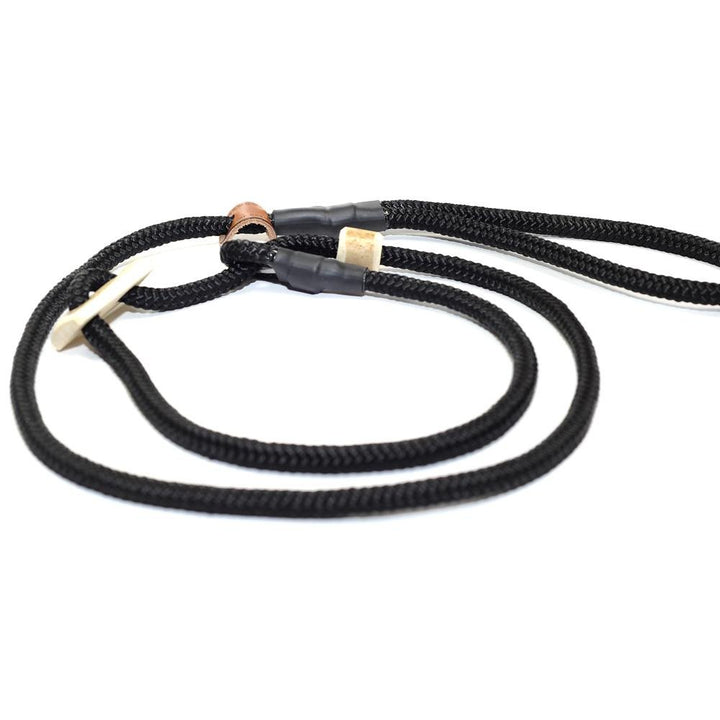 Retrieverleine 8mm Sporty | Black is Black - KENSONS for dogs
