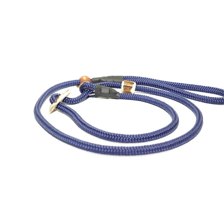 Retrieverleine 8mm Sporty | Dunkles Meeresblau - KENSONS for dogs