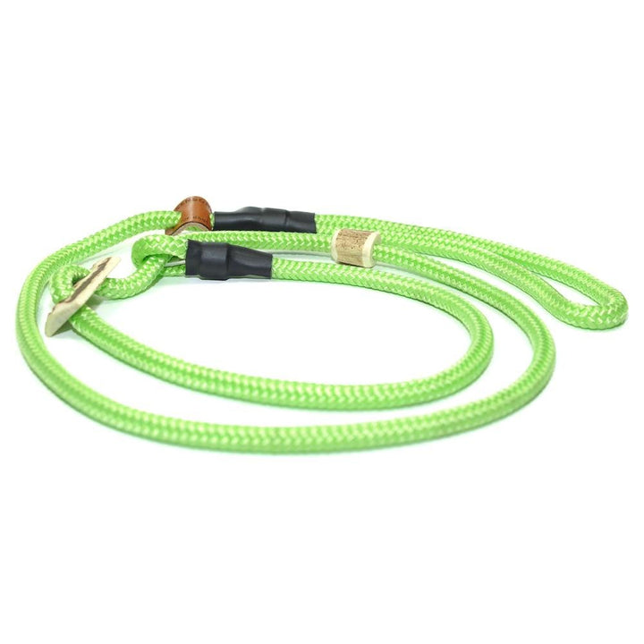 Retrieverleine 8mm Sporty | Hippes Neon-Grün - KENSONS for dogs