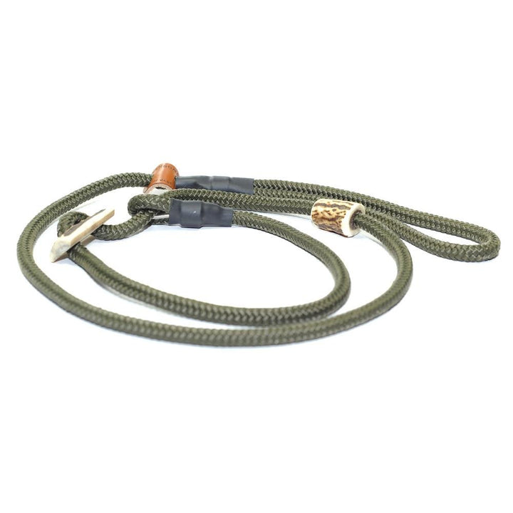 Retrieverleine 8mm Sporty | Waldluft-Grün - KENSONS for dogs