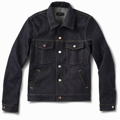 25oz Rope Indigo - Denim Jacket