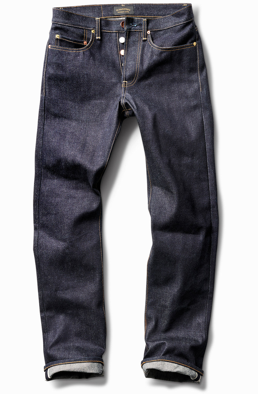 25oz Rope Indigo - Tall Straight
