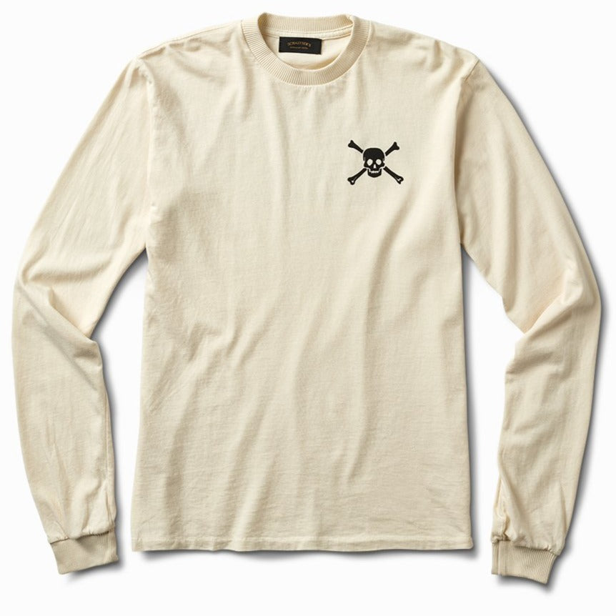 Skull & Bones Shop Long Sleeve - Off White