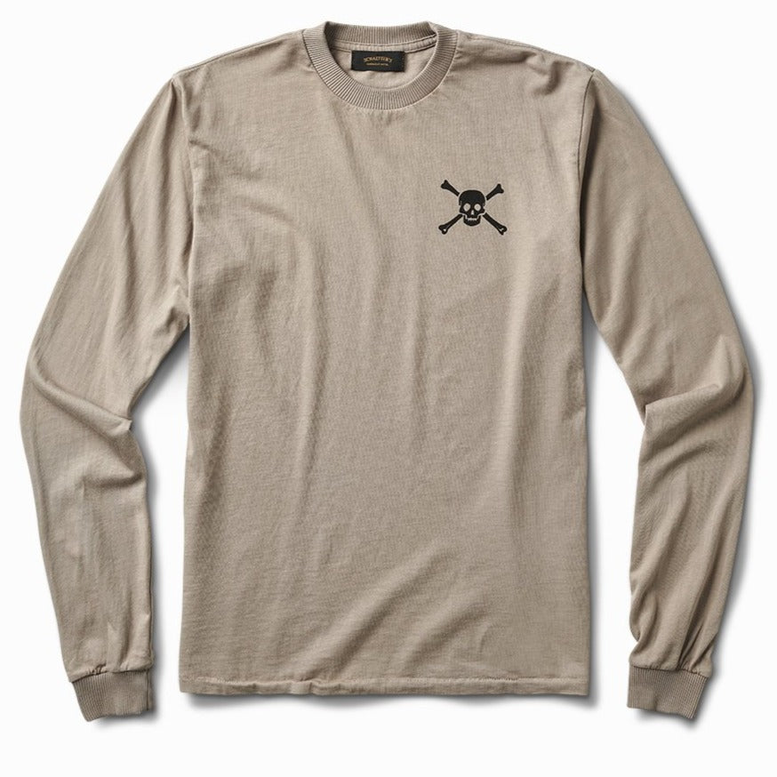 Skull & Bones Shop Long Sleeve - Grey