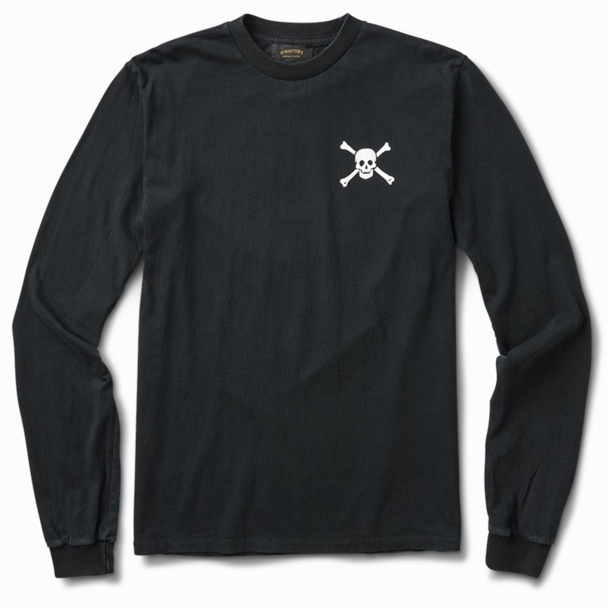 Skull & Bones Shop Long Sleeve - Black