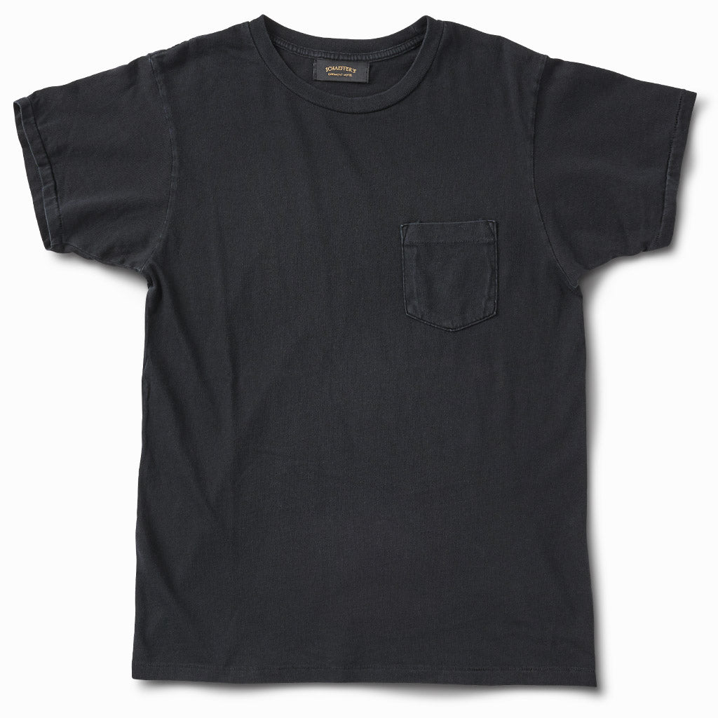 Ringspun Pocket Tee - Worn Black