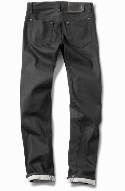 'The Paloma' Over Dyed Black - Tall Slim