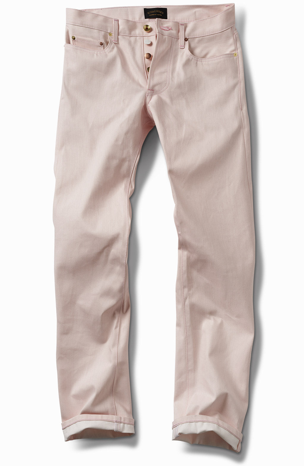 pink over white - tall slim