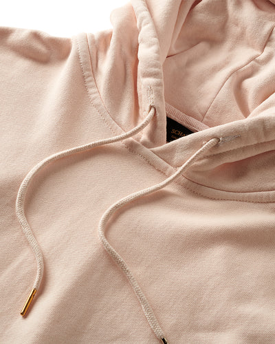 17oz French Terry Parchment Pink Champagne Hoodie