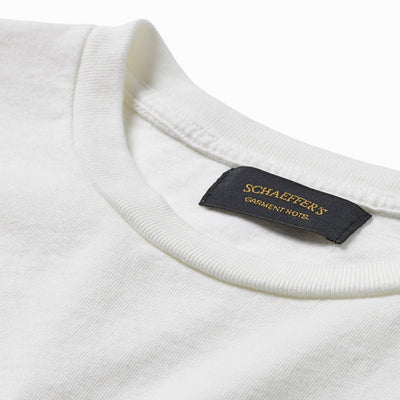 Ringspun Pocket Tee - Off White