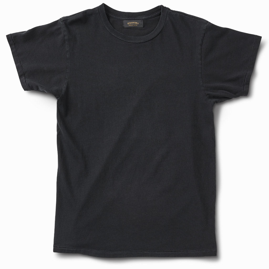 Ringspun Tee Worn - Black