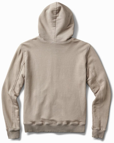 25oz French Terry Parchment Grey Hoodie